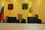 Участие областной организации Профсоюза в расширенном заседании областной трехсторонней комиссии по регулированию социально-трудовых отношений
