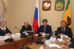 Участие председателя областной организации Профсоюза в расширенном заседании областной трехсторонней комиссии по регулированию социально-трудовых отношений