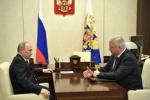 Президент Путин встретился с главой ФНПР Шмаковым