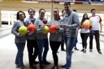 Команда областной организации Профсоюза приняла участие в соревнованиях по боулингу
