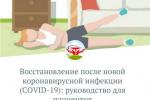 Восстановление после новой коронавирусной инфекции (СOVID-19): руководство для пациентов